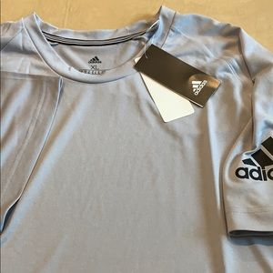 Adidas athletic tee shirt size xl NWT